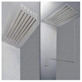 Ceiling Mounted Cloth Hanger